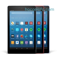 ihocon: All-New Fire HD 8 Variety Pack, 16GB - Includes Special Offers