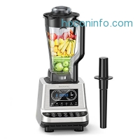 ihocon: Elechomes CHS2001 1600W Professional Blender Food Processor for Ice, Smoothies, Vegetable, Fruit