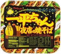 ihocon: Myojo Ippeichan Yakisoba Japanese Style Instant Noodles, 4.77-Ounce Tubs (Pack of 6)