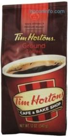 ihocon: Tim Horton's 100% Arabica Medium Roast Original Blend Ground Coffee, 12 Ounce