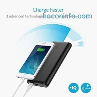 ihocon: Anker PowerCore Speed 20000 QC, Qualcomm Quick Charge 3.0 Portable Charger
