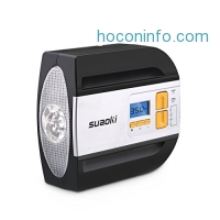 ihocon: Suaoki 12-volt Digital Air Compressor and Tire Inflator 電動打氣機