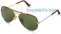 ihocon: Ray-Ban Men's Aviator Camouflage Sunglasses