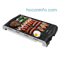ihocon: MLITER 2-in-1 Electric Grill Griddle 電烤盤
