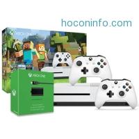 ihocon: Xbox One S Minecraft 500GB Bundle + Xbox Wireless Controller + Play & Charge Kit