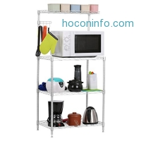 ihocon: LANGRIA 3-Tier Microwave Bakers Storage Rack微波爐電氣廚房用品收納架