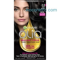 ihocon: Garnier Olia Oil Powered Permanent Hair Color, 2.0 Soft Black 染髮劑