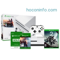 ihocon: Xbox One S Battlefield 1 500GB Bundle + Destiny 2 (Disc) + Xbox Live 3 Month