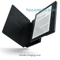 ihocon: Kindle Oasis with Leather Charging Cover - Free 3G + Wi-Fi