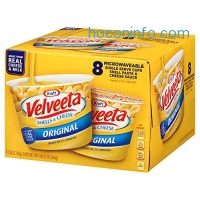 ihocon: Velveeta Shells & Cheese Pasta, Original, Single Serve Microwave Cups, 8 Count
