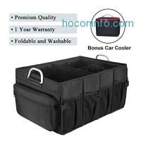 ihocon: MIU COLOR Foldable Cargo Trunk Organizer with Bonus Car Cooler