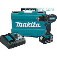 ihocon: Makita XPH102 18V LXT Lithium-Ion Cordless 1/2 Hammer Driver-Drill Kit (3.0Ah)