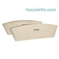 ihocon: Car  Premium PU Leather Pocket Organizer (Pack of 2)汽車小物收納袋