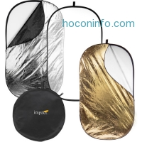 ihocon: Impact 5-in-1 Collapsible Oval Reflector (42 x 72)可折疊收納, 照相用反光板含收納袋