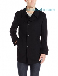 ihocon: Kenneth Cole New York Men's Black Elmore Coat