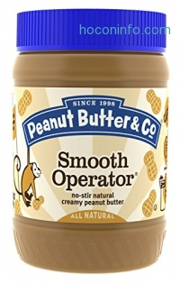 ihocon: Peanut Butter & Co. Peanut Butter, Smooth Operator, 16 Ounce Jars (Pack of 6)