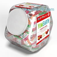 ihocon: YumEarth Organic Natural Fruit Lollipops, 30 Ounce Container 有機棒棒糖