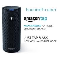 ihocon: Certified Refurbished Amazon Tap - Alexa-Enabled Portable Bluetooth Speaker