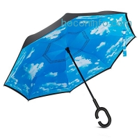 ihocon: Inverted Double Layer UV Protection Reverse Umbrellas反向傘
