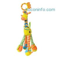 ihocon: Veego Plush Giraffe Animal, Baby Plush Toy 嬰兒玩具