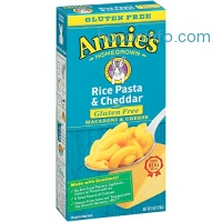 ihocon: Annie's Gluten Free Macaroni and Cheese, Rice Pasta & Cheddar Mac and Cheese, 6 oz Box (Pack of 12)
