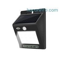 ihocon: Solar Motion Sensor Wall Light, 12 LED 太陽能動作感應庭園燈