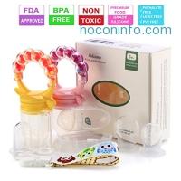 ihocon: Lideemo 3-IN-1 Baby Food Feeder Pacifier(2 Pack)嬰兒水果,蔬菜餵食固齒器