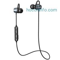 ihocon: Mpow Bluetooth Headphones w/Mic & Case藍芽無線麥克風耳機,含收納盒