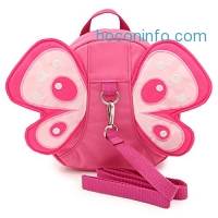 ihocon: Hipiwe Butterfly Baby Walking Safety Backpack Anti-lost幼兒防走失背包