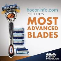 ihocon: Gillette Fusion ProGlide Razor Handle  + 4 ProGlide Razor Blade Refills 男士刮鬍刀