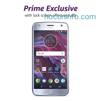 ihocon: Moto X (4th Generation) - with hands-free Amazon Alexa – 32 GB - Unlocked – Sterling Blue - Prime Exclusive - with Lockscreen Offers & Ads