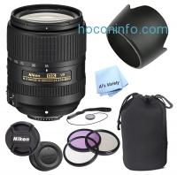 ihocon: Nikon AF-S DX NIKKOR 18-300mm f/3.5-6.3G ED VVR Zoom Lens (White Box ) + 3 Piece Filter Kit + Lens Pouch + Lens Hood + More - Walmart.com