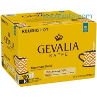 ihocon: Gevalia Signature Blend Coffee, K-CUP Pods, 100 Count膠囊咖啡