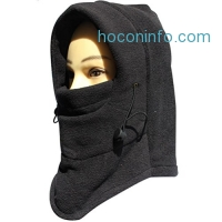 ihocon: FUYI Women's Windbreak Fleece Mask Cover hat