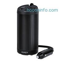 ihocon: AUKEY 150W Power Inverter with Cup Holder Design & Outlet + USB Port電源轉換器