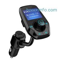 ihocon: Mpow Bluetooth FM Transmitter 汽車用藍芽接收器