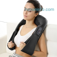 ihocon: Naipo Shoulder Massager with Shiatsu Kneading Massage and Heat 加熱頸部電動按摩器