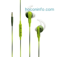 ihocon: Bose SoundSport In-Ear Headphones-Apple Devices (Energy Green)
