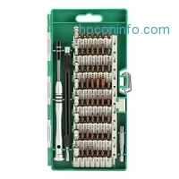 ihocon: MECO Precision Screwdriver Set 60-in-1 Magnetic Screwdriver Set手機,電器修理螺絲刀組