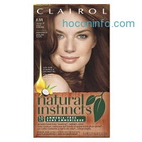 ihocon: Clairol Natural Instincts, 6.5R / 16 Spiced Tea Light Auburn, Semi-Permanent Hair Color, 1 Kit 染髮劑