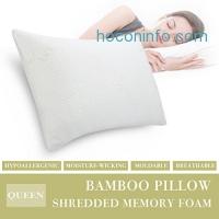 ihocon: LANGRIA Shredded Memory Foam Pillow Firm碎塊記憶棉枕頭