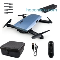 ihocon: Enjoydeal Foldable Wifi FPV RC Drone 6-Axis Quadcopter W/720P HD Selfie-Camera空拍機
