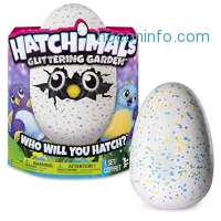 ihocon: Hatchimals Glittering Garden - Hatching Egg and Interactive Shimmering Draggle by Spin Master神密寵物蛋