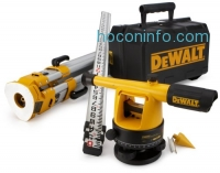 ihocon: DEWALT DW090PK 20X Builder's Level Package with Tripod and Rod