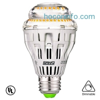 ihocon: SANSI A19 15W (150-125 Watt Equivalent) Dimmable LED Light Bulbs光線微調燈泡