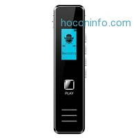 ihocon: ELEGIANT 8GB Digital Voice Recorde with MP3 Player 錄音筆