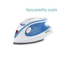 ihocon: Sunbeam Hot-2-Trot 800 Watt Compact Non-Stick Soleplate Travel Iron,  GCSBTR-100-000小型蒸氣熨斗