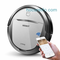 ihocon: ECOVACS DEEBOT M80 Pro Robotic Vacuum Cleaner with Mop and Water Tank, APP Control, Wi-Fi Connected 智能吸地/扡地機器人