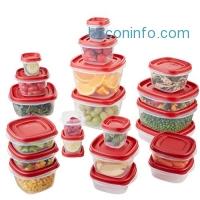 ihocon: Rubbermaid Easy Find Lids Food Storage Container, 42-Piece 食物保鮮盒