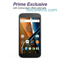 ihocon: Moto G (4th Generation) - Black - 32 GB - Unlocked - Prime Exclusive - with Lockscreen Offers & Ads